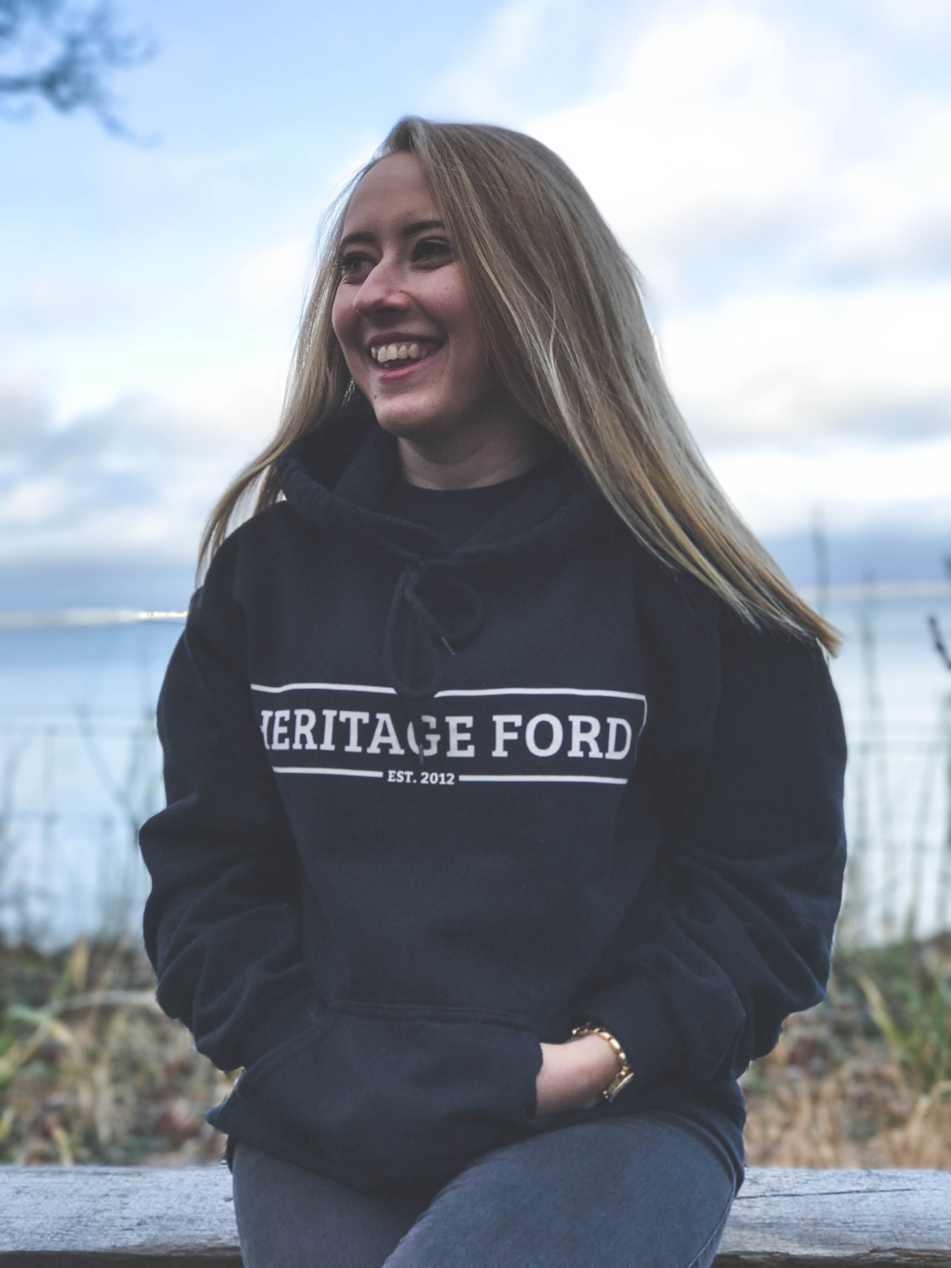 HeritageFord logo on jumper